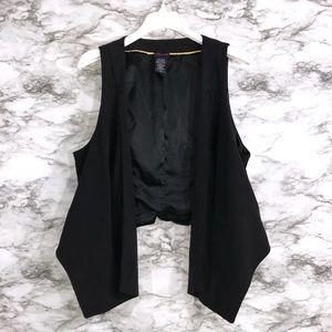 Torrid Black Vest
